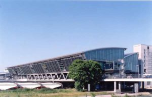Das neue Zentralterminal des Flughafen Leipzig