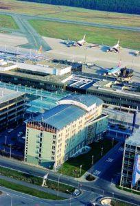 Das Mövenpick Hotel am Flughafen Nürnberg