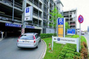 Der Flughafen Nürnberg verfügt über ausreichend Parkmöglichkeiten