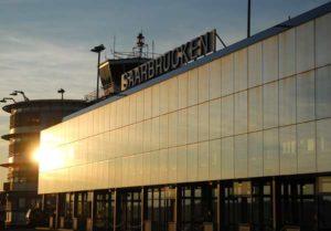 Flughafenterminal Flughafen Saarbrücken