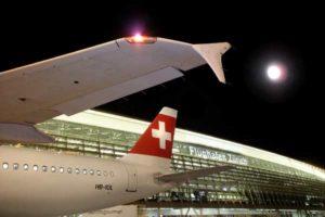 Der Flughafen Zürich ist die Heimatbasis von Swiss Air