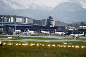 Der Flughafen Zürich ist landschaftlich sehr reizvoll gelegen.
