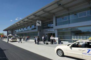 Ankunft Terminal Flughafen Friedrichshafen