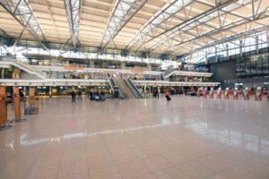 Terminal 1 Flughafen Hamburg Check In