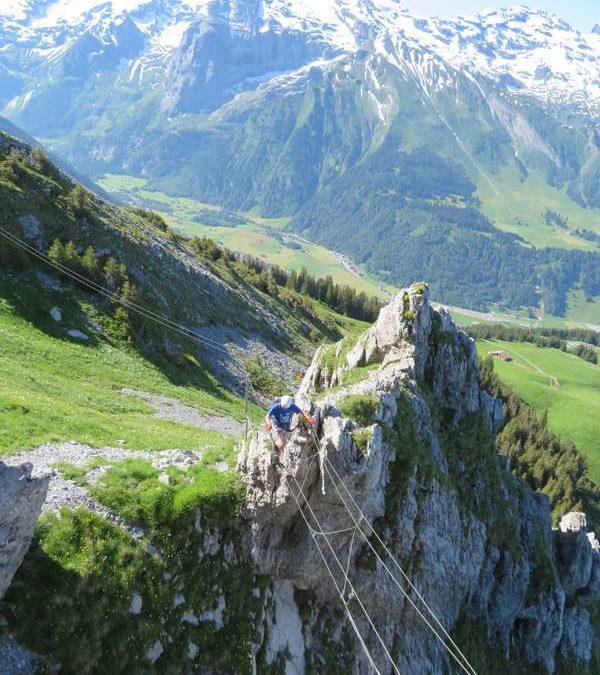 Engelberg – Starthilfe für Klettersteig-Anfänger