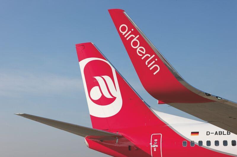 airberlin ändert die Check In-Zeiten