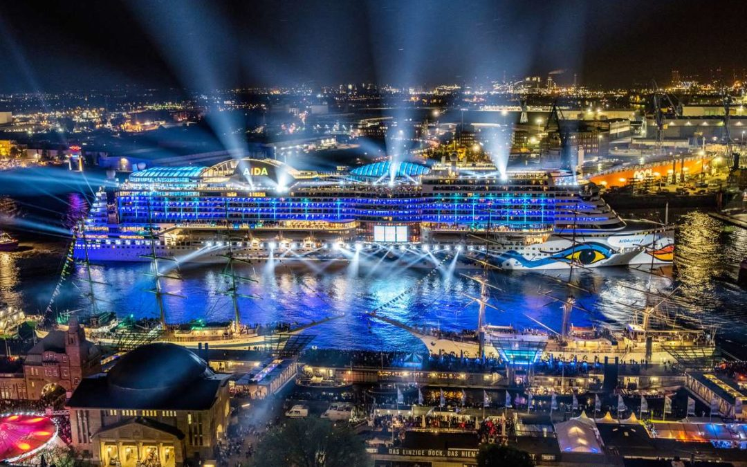 Hamburg Cruise Days 2017: AIDAprima führt Schiffsparade an