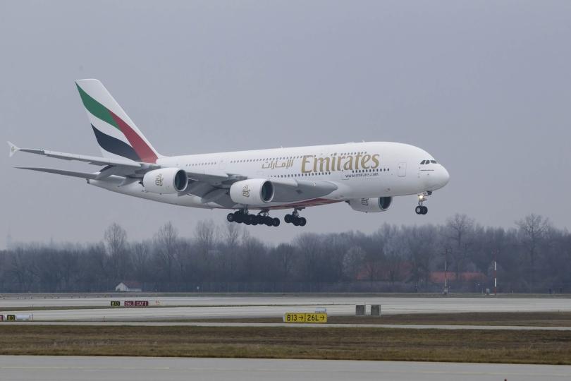 Emirates Airbus A380 jetzt täglich von München nach Dubai