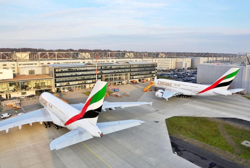 Jeder dritte Airbus A380 fliegt für Emirates