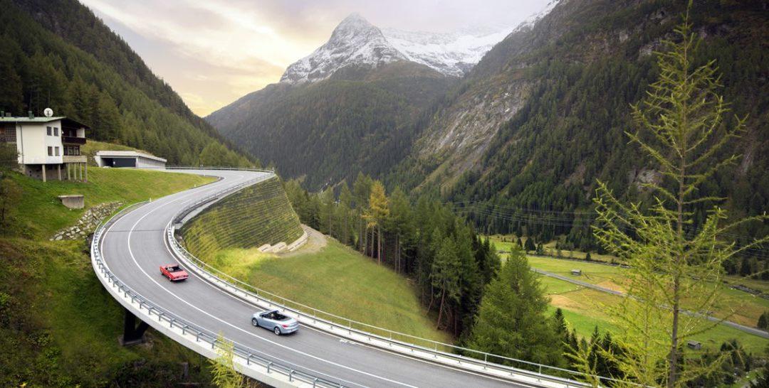 Felbertauernstraße – ohne Autobahnmaut durch Österreich