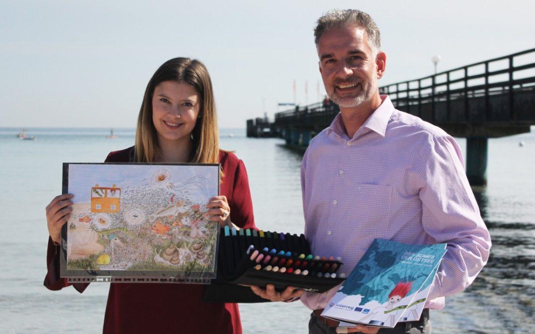 Interaktives Umweltbildungsheft für kleine Ostsee-Urlauber