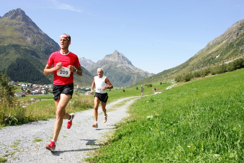 Bergmarathon in Galtür für Jedermann