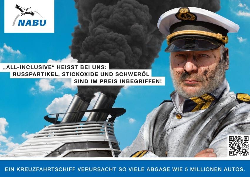 Massive Luftverschmutzung durch Kreuzfahrtschiffe