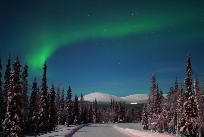Nordlicht-Zauber am Polarkreis