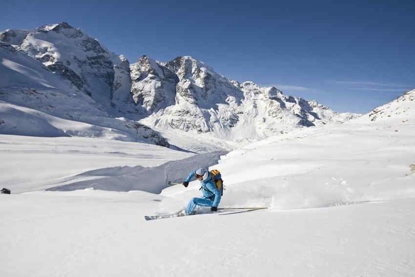 Diavolezza – die längste Gletscherabfahrt der Schweiz