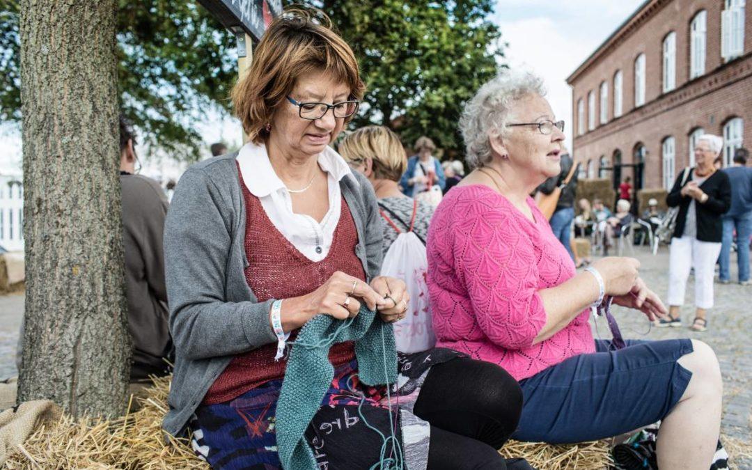 Strick-Fans treffen sich in Fanø zum Strickfestival
