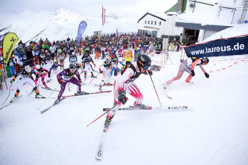 """Kult-Skirennen der """"Weisse Ring"""" 2013 mit viel Prominenz"""