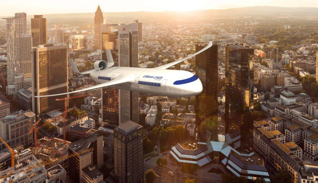 Das Flugzeug der Zukunft aus Sicht von Studierenden