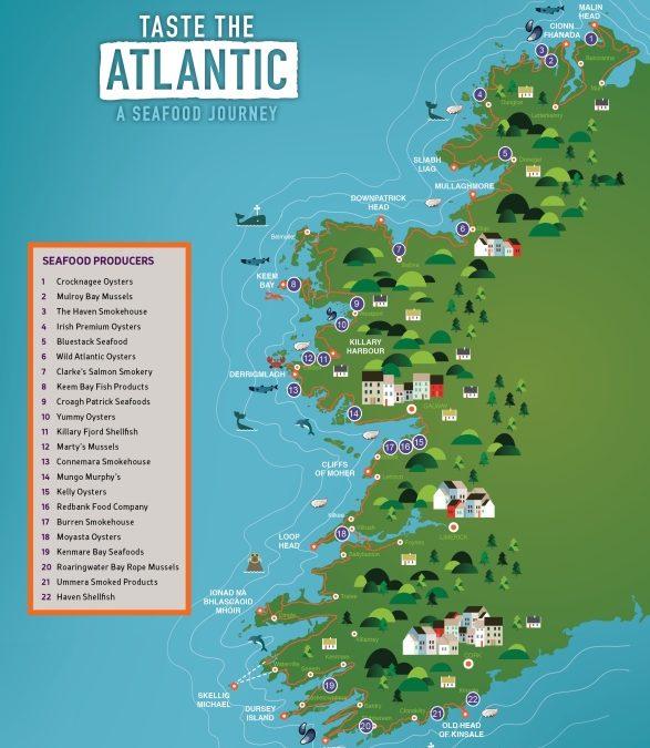 Taste the Atlantic – Neue kulinarische Reiseroute in Irland