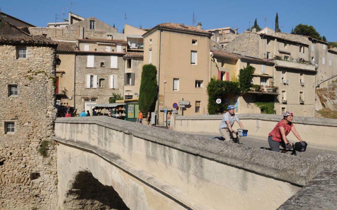 Neue Radstrecke entlang der südlichen Weinlagen der Rhone