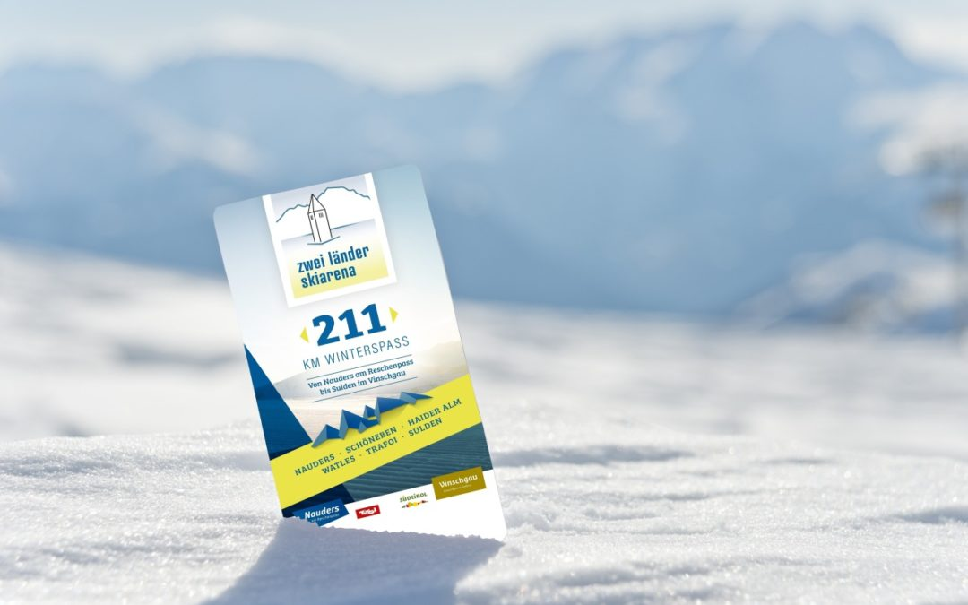 Zweiländer Skiarena verbindet Skigebiete im Vinschgau mit Nauders