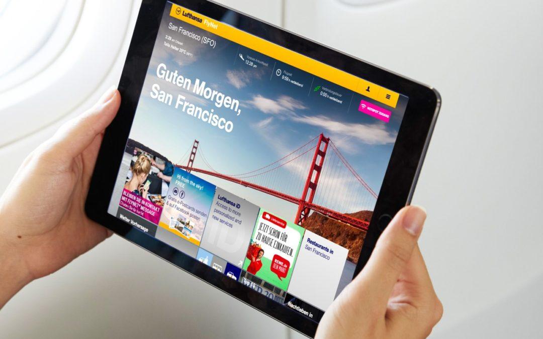 Lufthansa startet Pilotprojekt mit REWE Onlineshop