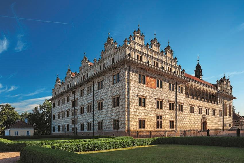 Kleiner Speisesaal auf Schloss Litomyšl wieder geöffnet