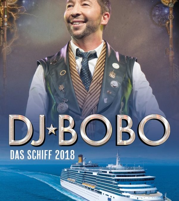 Jubiläumskreuzfahrt mit DJ Bobo auf der Costa Deliziosa