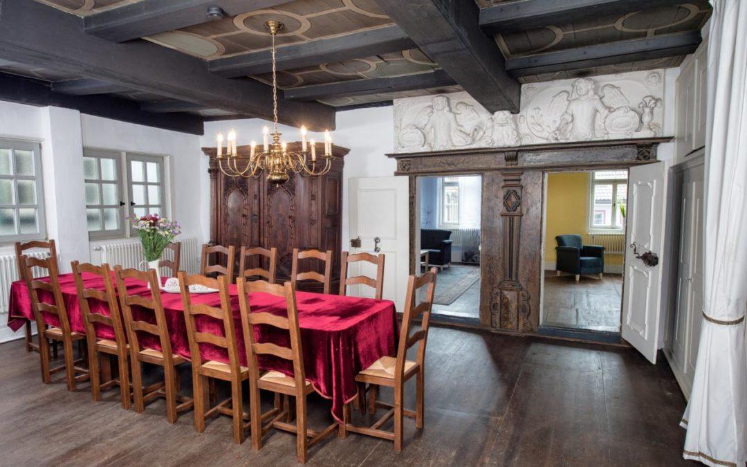 Ehemalige Lutherwohnung ist jetzt exklusive Ferienwohnung