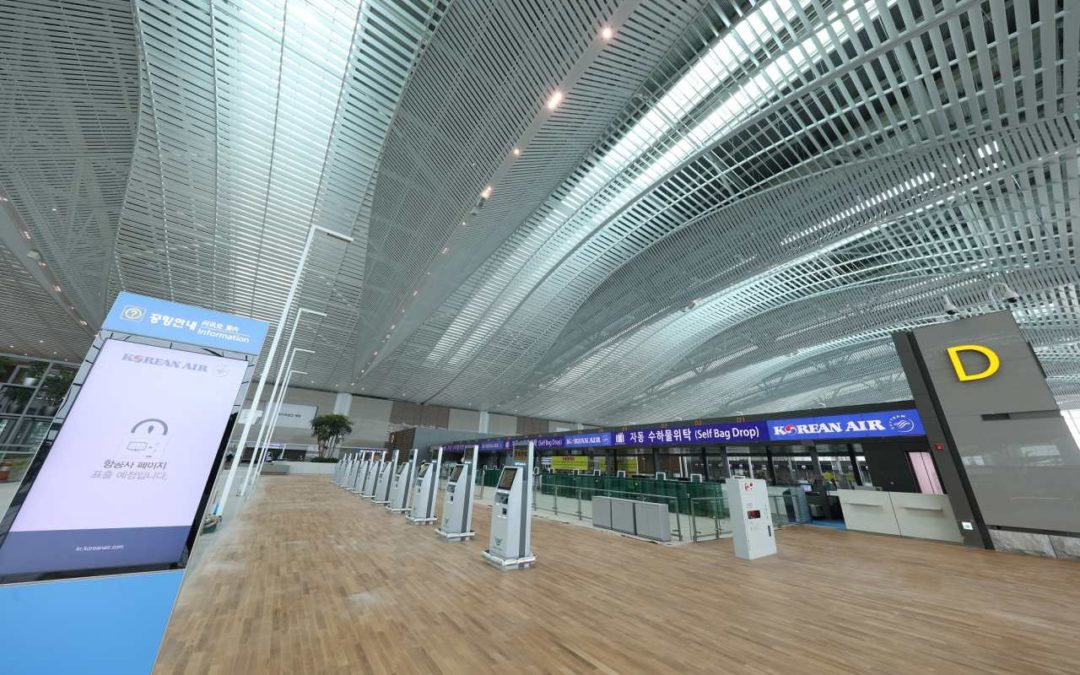 Neues Terminal 2 am Incheon Airport geht an den Start