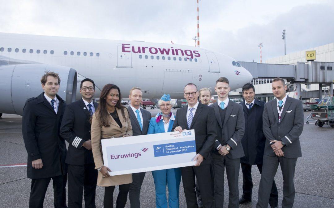 Neue Eurowings-Flugverbindung Düsseldorf – Puerto Plata ab 200 Euro