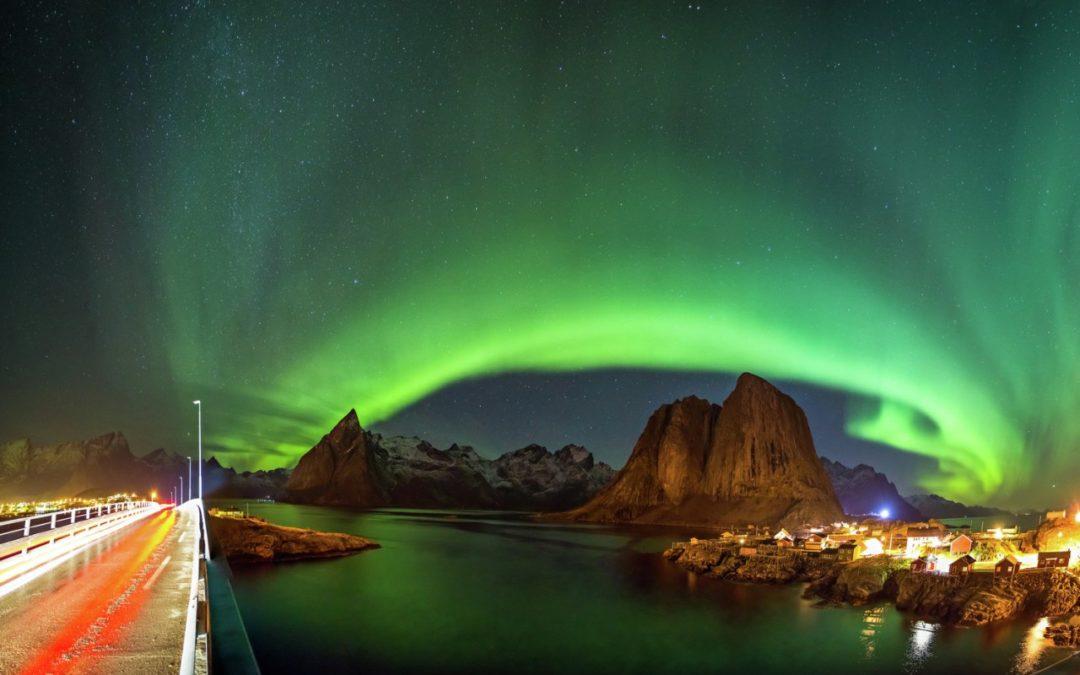 Influencer berichten über das Nordlicht in Norwegen