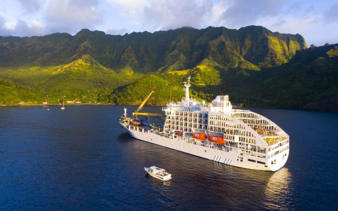 Südsee-Kreuzfahrtschiff Aranui 5 steuert erstmals Pitcairn an