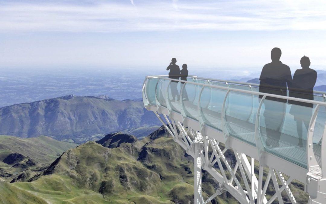 Neue Aussichtsplattform auf dem Pic du Midi
