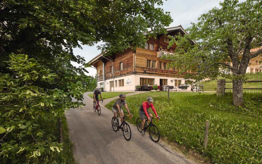 Swiss Bike Hotels – passende Unterkünfte für Bike-Ferien in der Schweiz