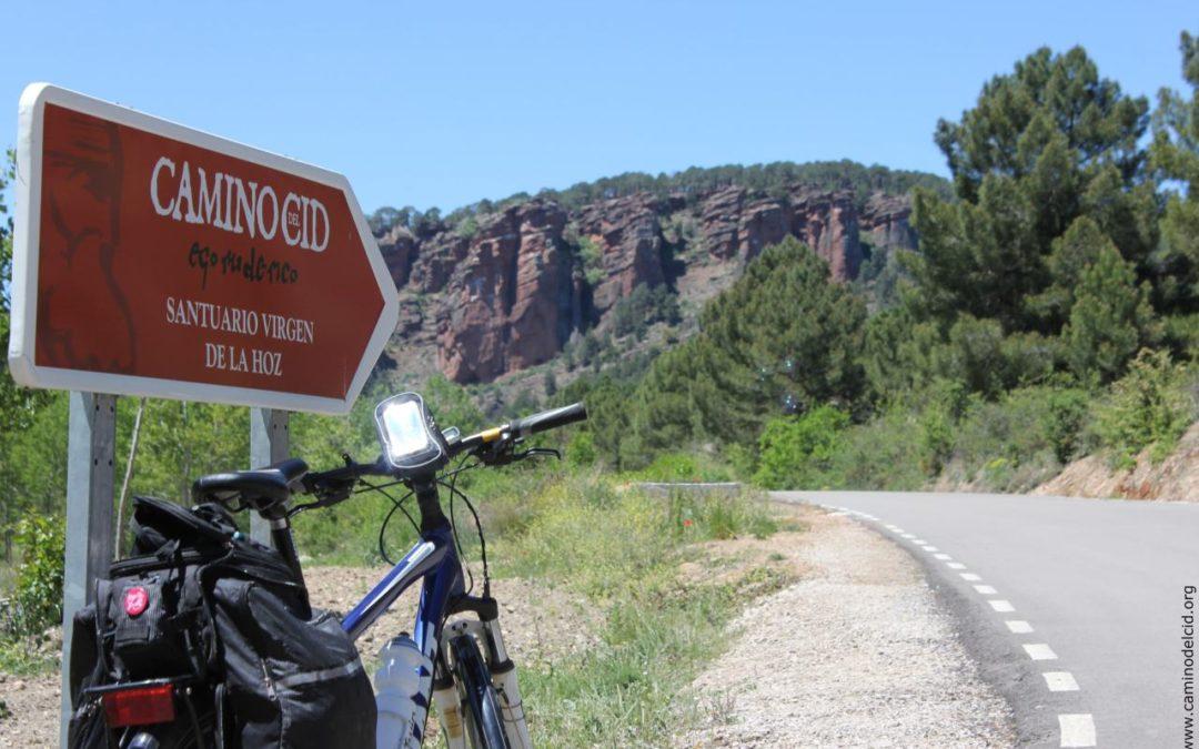 Digitaler Führer für die Radwege des Camino del Cid