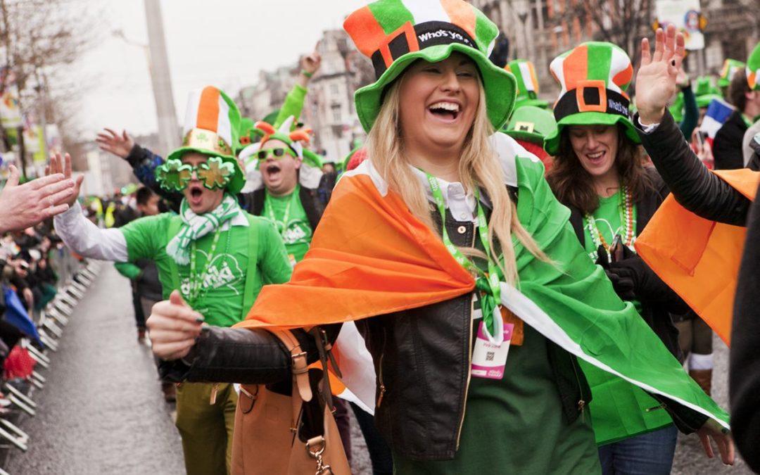 Irland freut sich auf den St. Patrick´s Day 2018