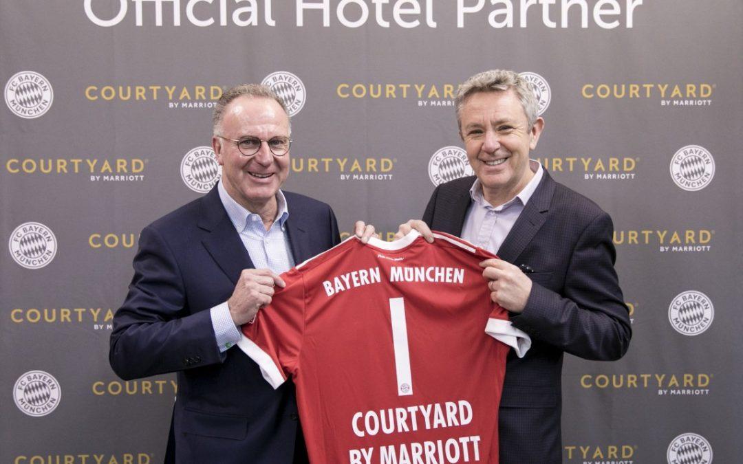 Courtyard by Marriott neuer Hotelpartner bei Bayern München
