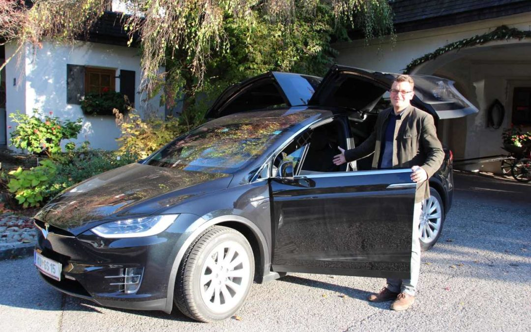Tesla X100D testen im Hotel Trattlerhof in Bad Kleinkirchheim