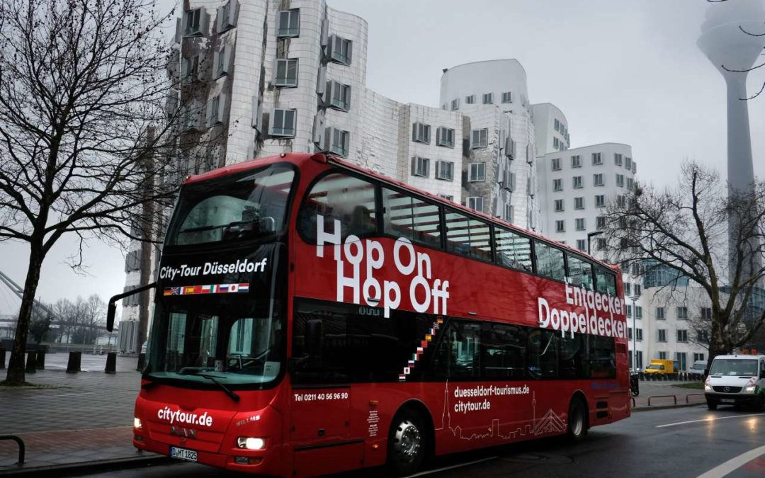 Neue Streckenführung für Düsseldorfer HopOn HopOff-Touren