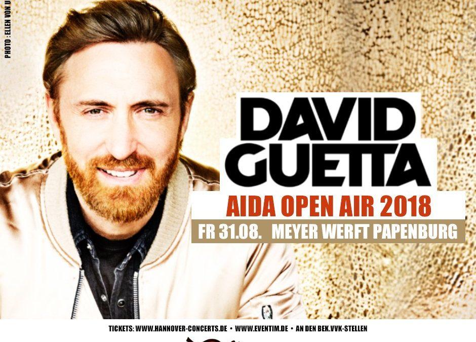 AIDA Open Air mit David Guetta