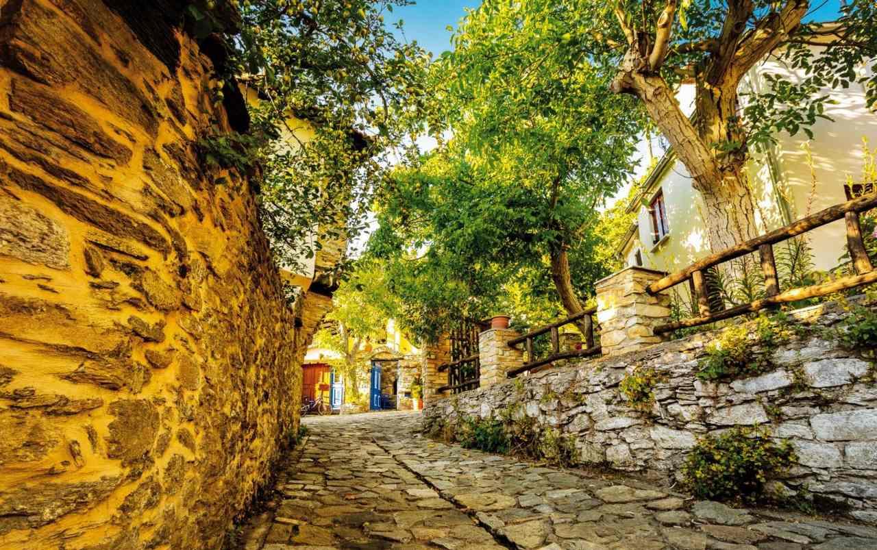 Dorfidylle auf Thassos