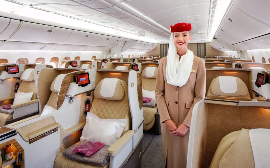 Emirates: mehr Komfort in der Business-Class in der Boeing 777