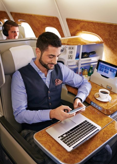 Emirates: zehn Jahre Mobilfunknutzung an Bord