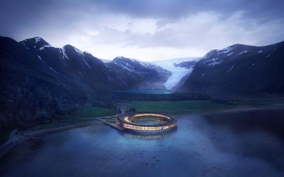 Erstes Gebäude nördlich des Polarkreises mit Plusenergie-Standard