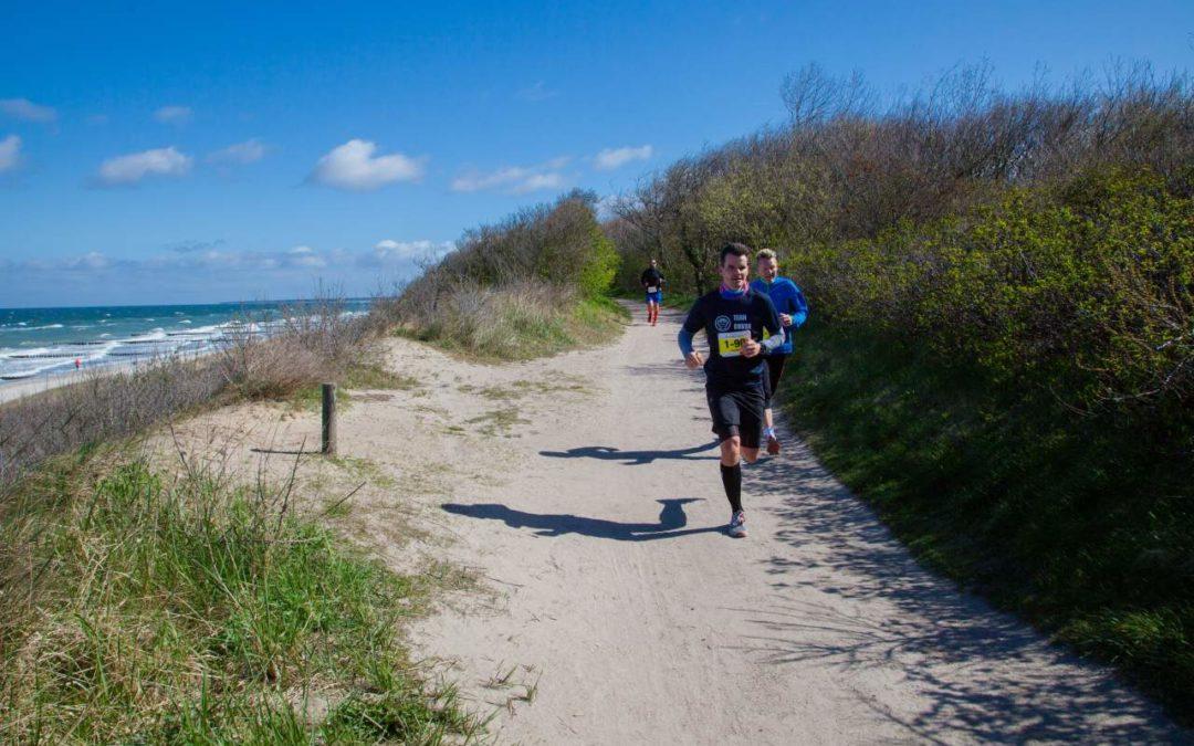 Darß Marathon 2018 vorbei an Ostsee und Bodden