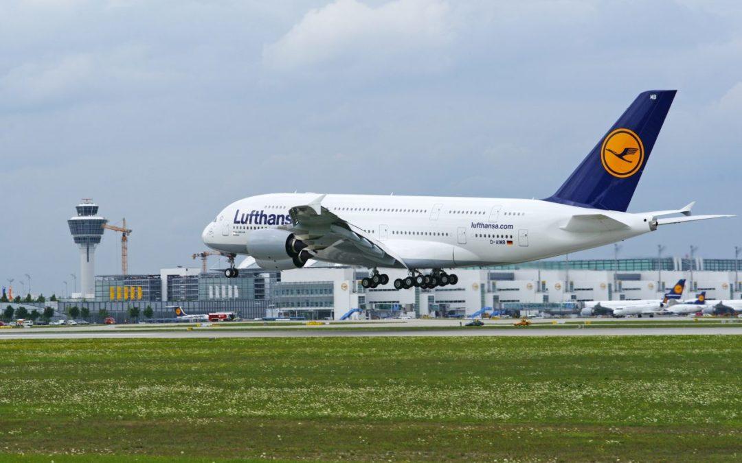 Lufthansa stationiert fünf Airbus A380 am Flughafen München