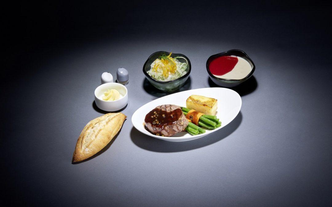 """""""Menüs à la Carte"""" auf Lufthansa Langstreckenflügen"""