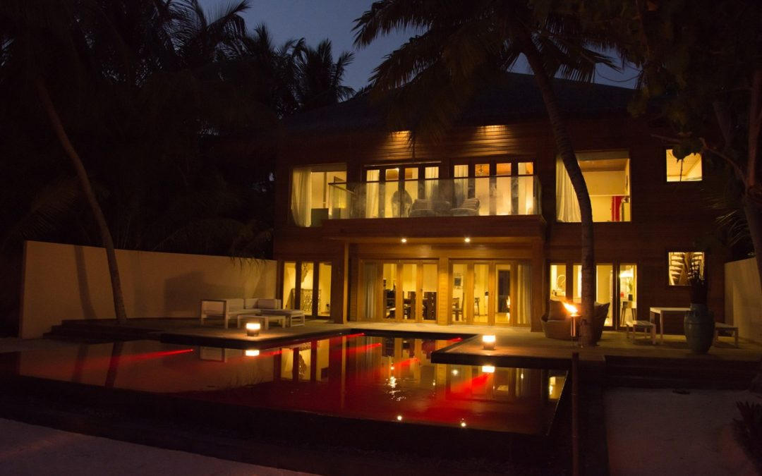 Neues Mega Penthouse im Huvafen Fushi Luxusresort auf den Malediven