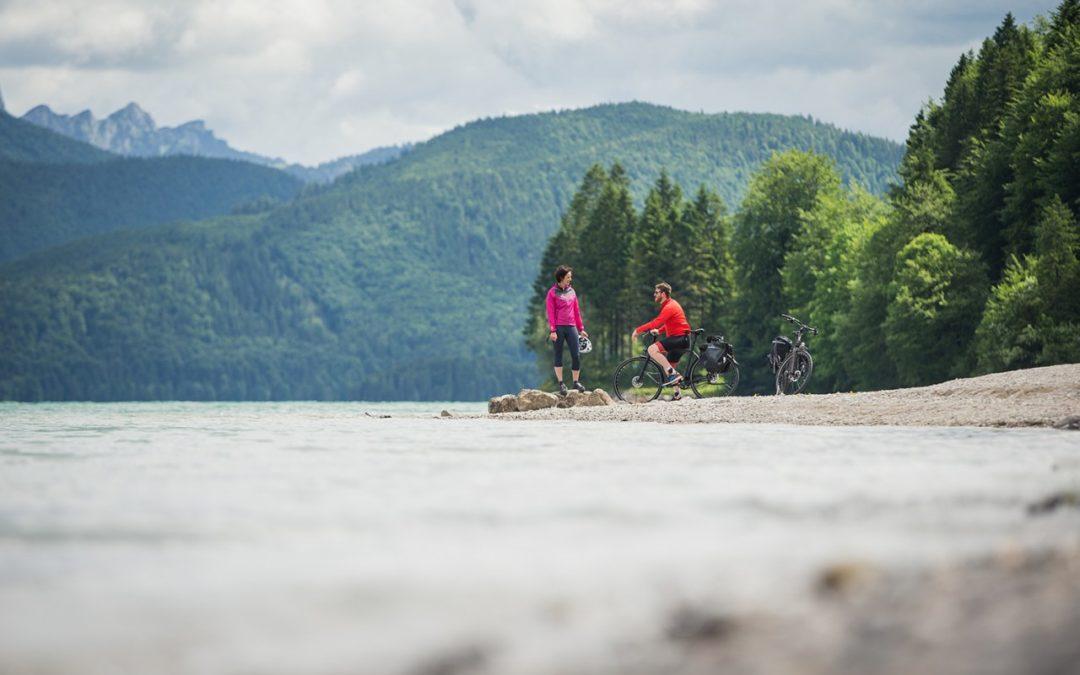 Neue WasserRadlWege in Oberbayern